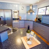 Moorings 1770 kitchen