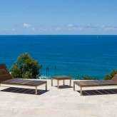 Alinghi travertine terrace