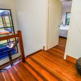 Hallway and stairs - polished timber floors