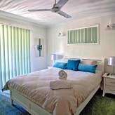 Cabbage Palm - Main Queen room with air con