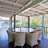 Cabbage Palm - Back deck