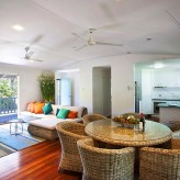 Cabbage Palm - dining lounge kitchen to front deck