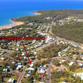 Cabbage Palm Crt - aerial photo