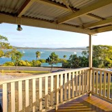 Elliot Lodge deck view