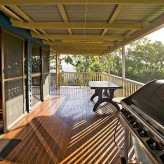 Elliot Lodge bbq deck