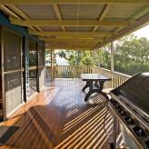 Elliot Lodge bbq deck