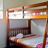 The Lazy Lizard bunk bedroom
