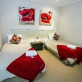 Loka Santi twin bedrooms