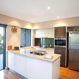 Loka Santi apartments kitchen