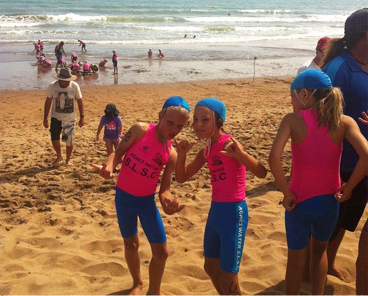 Nippers at Agnes Water/1770
