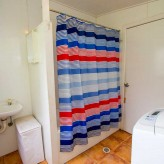 The Shack bathroom laundry