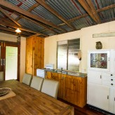 The Shack dining kitchen