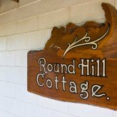 Round Hill Cottage sign