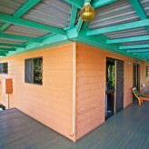 The Little House deck