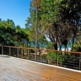 Coral View bbq deck