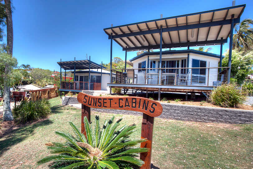 Sunset Cabines exterior shot