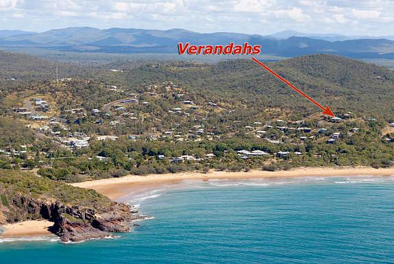 Verandah's of Agnes map
