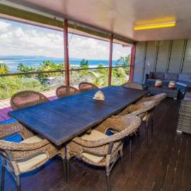 Villa 1770 deck furnishings