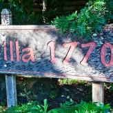Villa 1770 sign