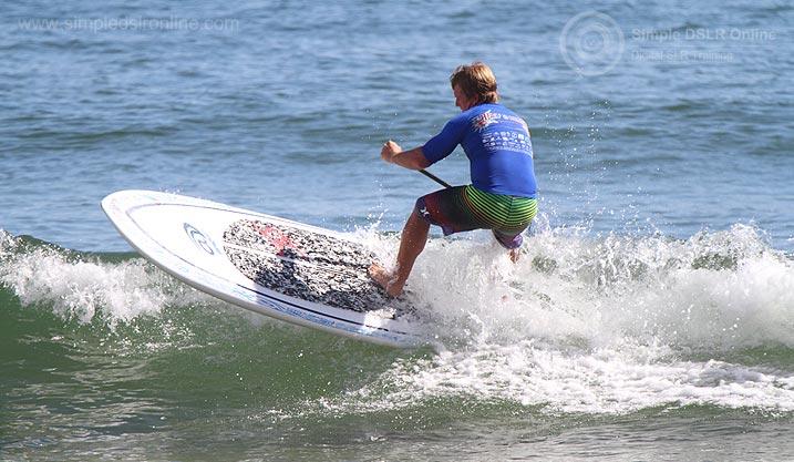 Longboard Surf Classic Agnes Water Surfer