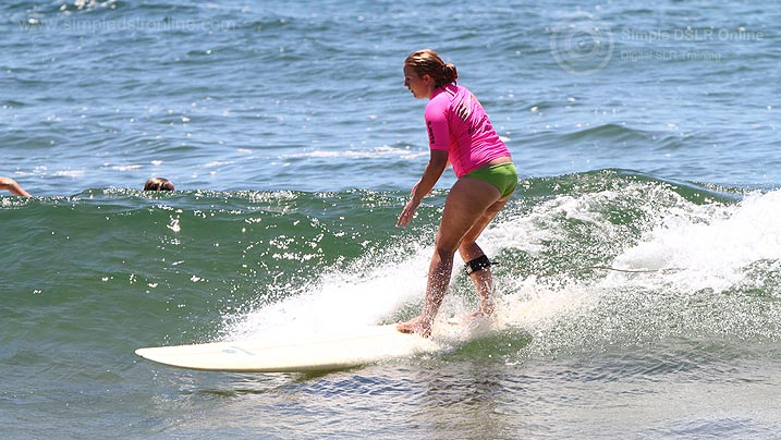 Longboard Surf Classic Agnes Water Surfer