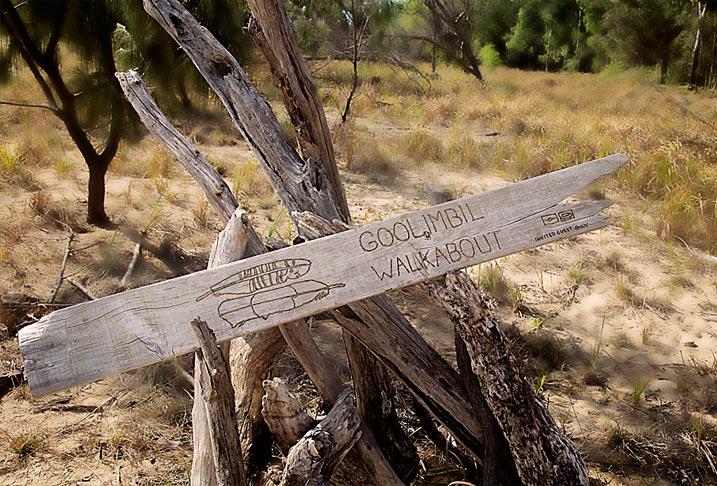 Goolimbil Walkabout Tour Sign