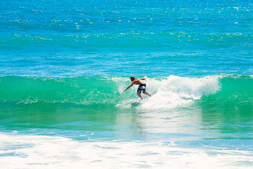 Agnes Water Australia  City new picture : Surfing at Agnes Waters