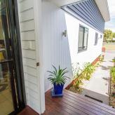 Torakina beach house entrance