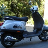 Hire our Vespa