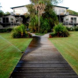 Shutters house mini resort
