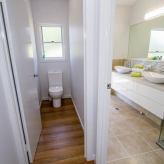 Slipaway main bathroom separate toilet