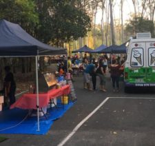 stalls at the hump day markets