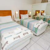Aqui 308 Guest bedroom with 2 king singles