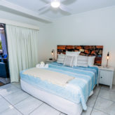 Aqui 308 Master Bedroom with King Bed opens on to balcony