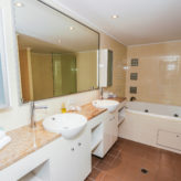 Aqui 308 En-suite with twin vanities & spa bath